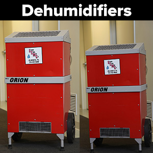 Industrial Dehumidifiers for Sale or Rental