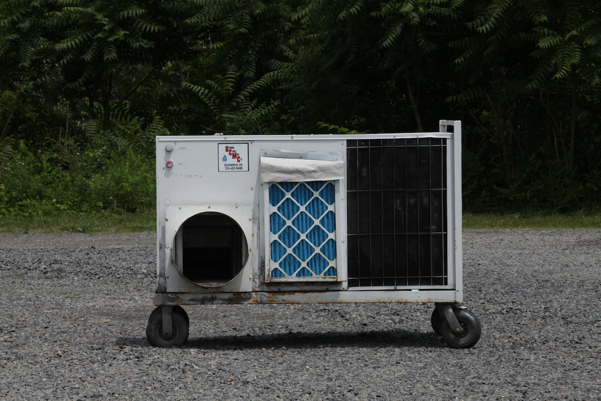 Portable AC Systems Industrial A/CTM Solutions from Union Chill Mat #234963